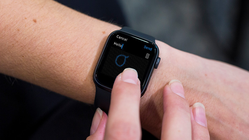 Aan de slag met Scribble op Apple Watch