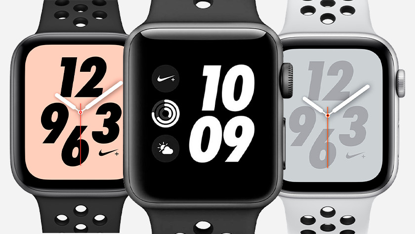 Apple Watch Nike wijzerplaten