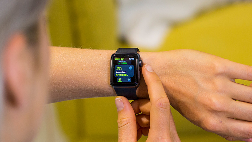 Apple Watch zwemmen douchen