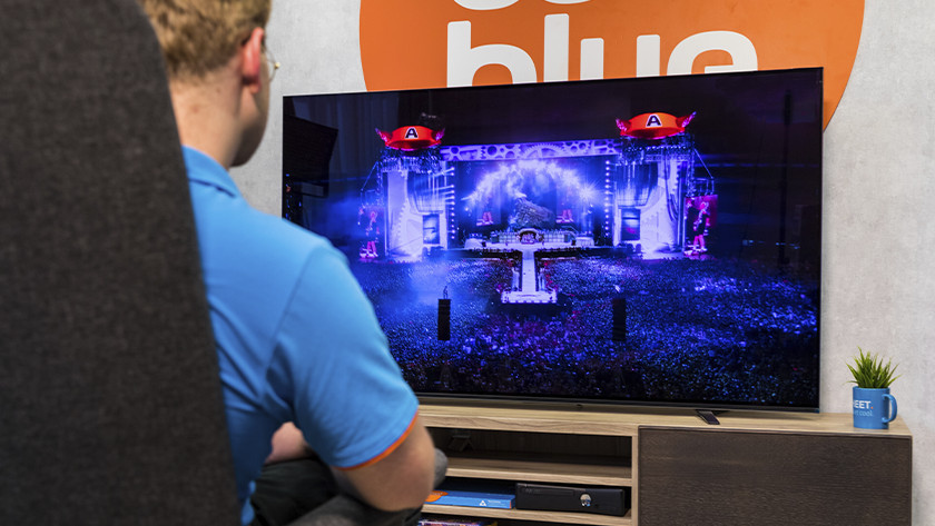 Geluid van de Sony A8 OLED tv