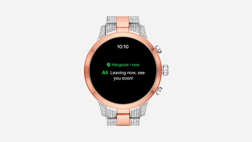 Gezondheidsapps gebruiken op smartwatch