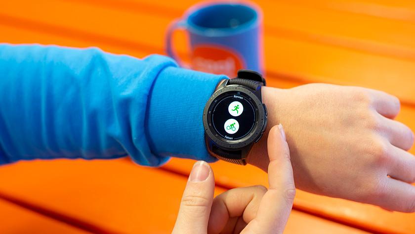 Samsung Galaxy Watch batterij