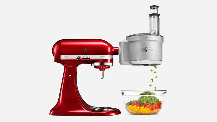 KitchenAid with food processor