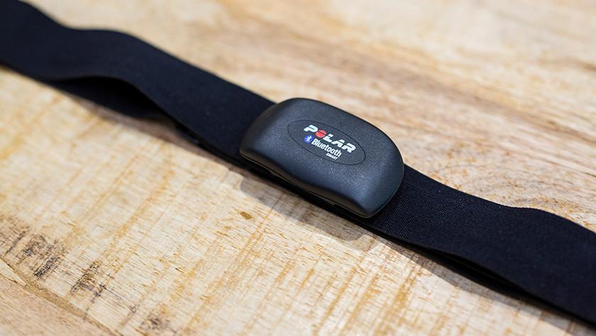 Polar heart rate belt