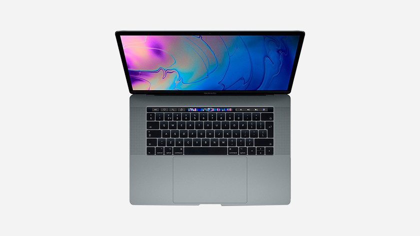 MacBook Pro Touch Bar toetsenbord