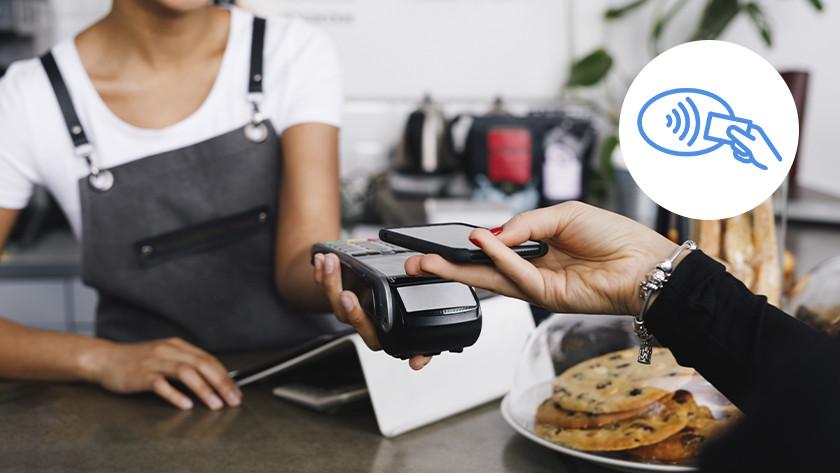 contactloos betalen smartphone