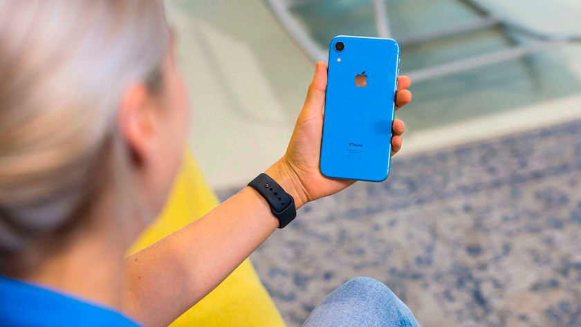 iPhone Xr back