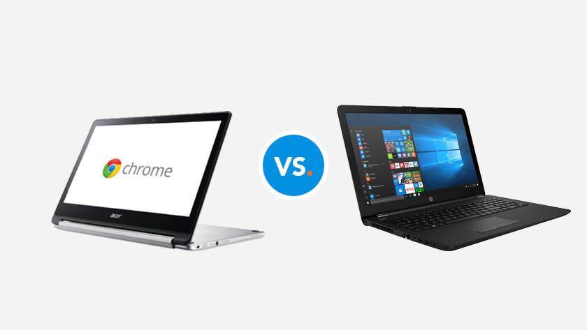 Chromebook versus laptop