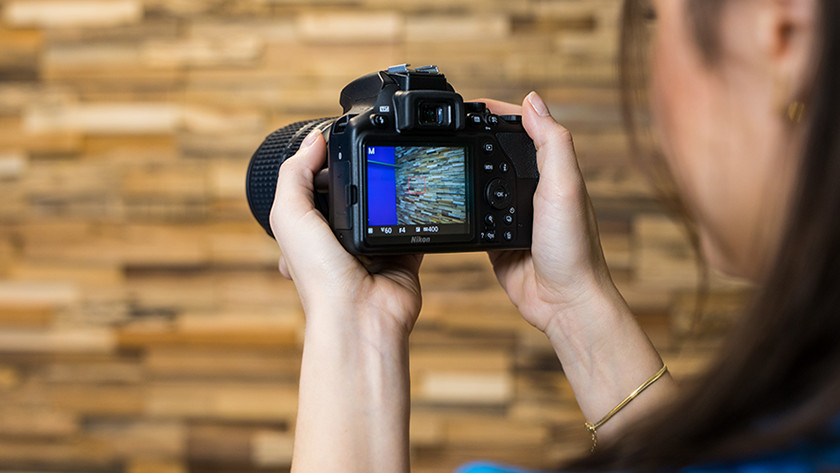 Scherpstelling Nikon D3500