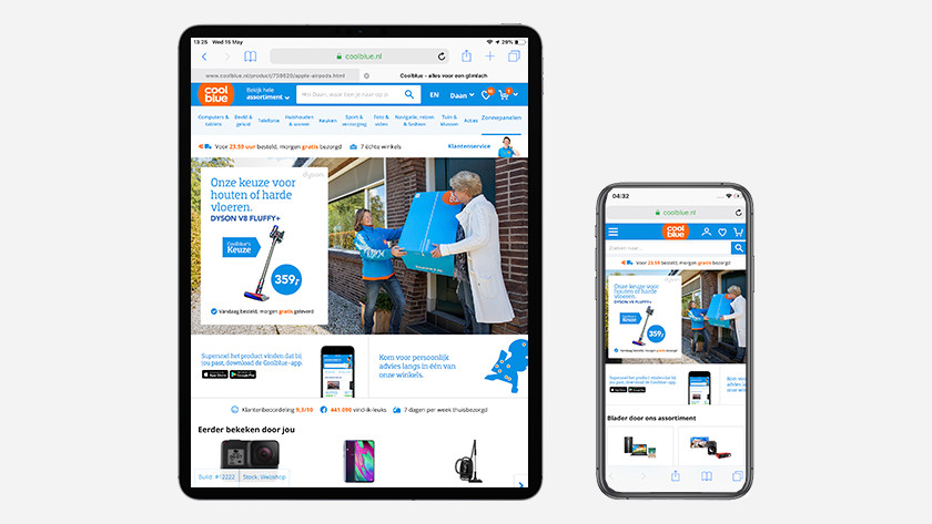 iPhone/iPad Coolblue