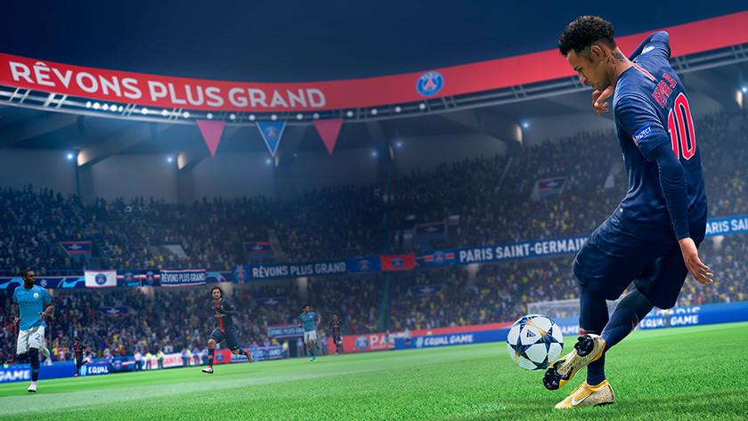 FIFA 19 in actie