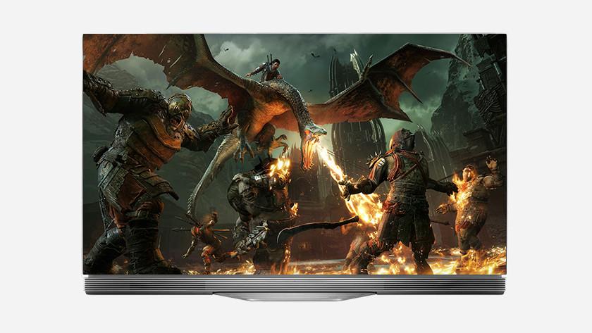 OLED TV image quality