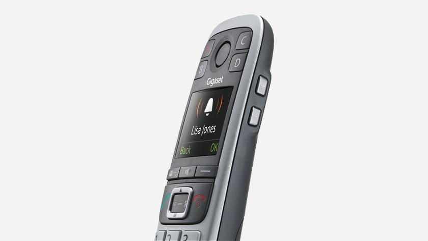 Add contacts landline phone Gigaset