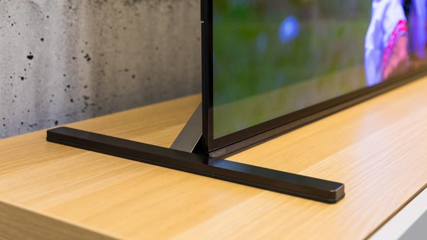 Ontwerp van de Sony A90J OLED tv