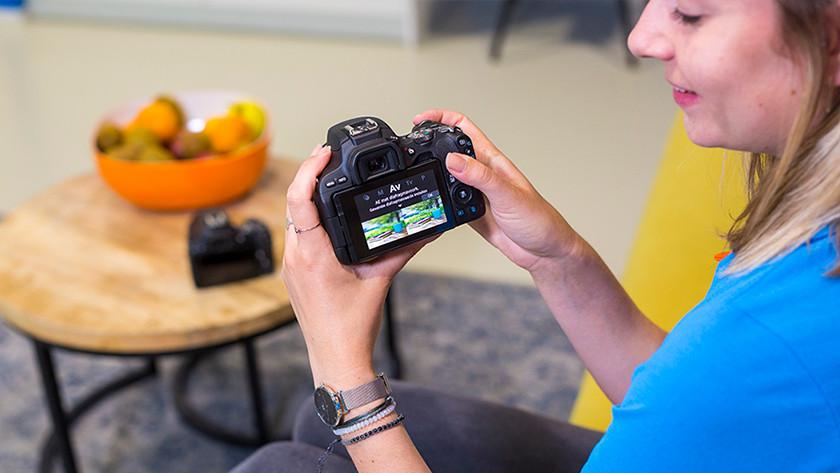 Visuele gids Canon EOS 200D