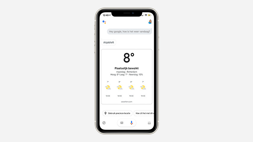 Use Google Assistant