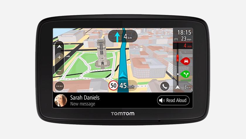 Navigatie met smartphonemeldingen