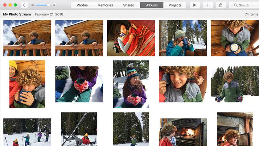 Apple MacBook foto's en video's bekijken op Apple TV