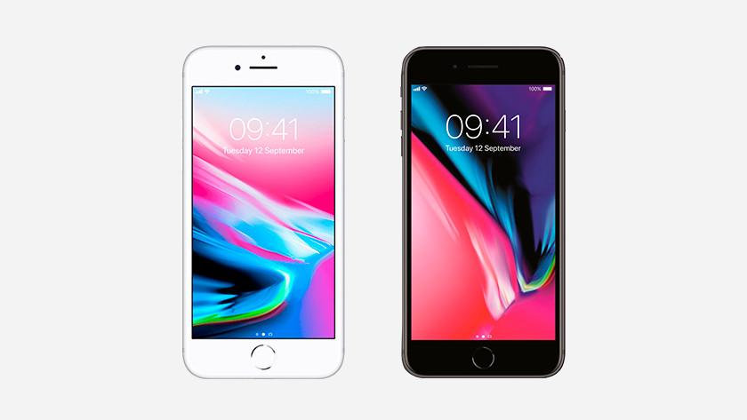 Kleuren randen iPhone