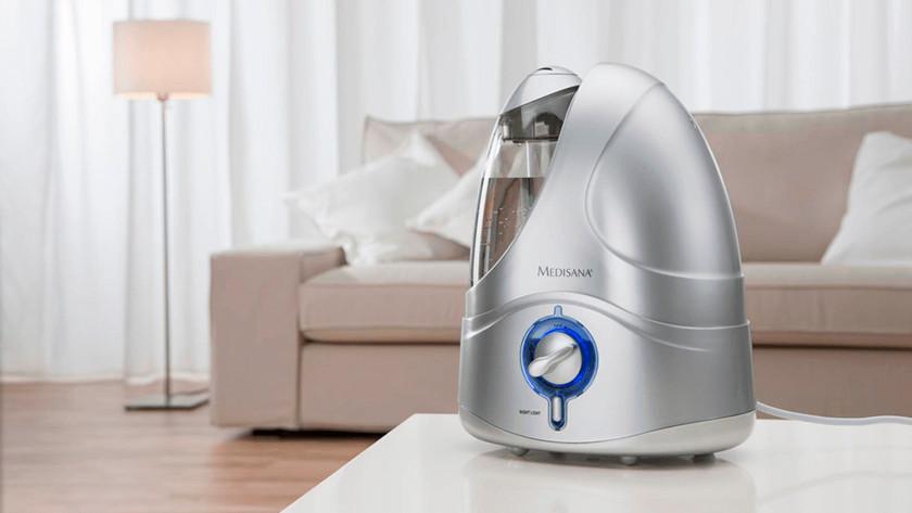 Ultrasonic humidifier Medisana