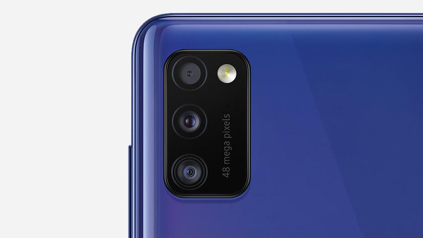Samsung A41 of Samsung M31 foto's