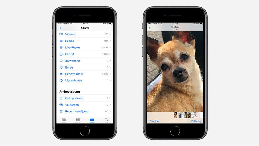 iPhone verwijderde afbeelding herstellen