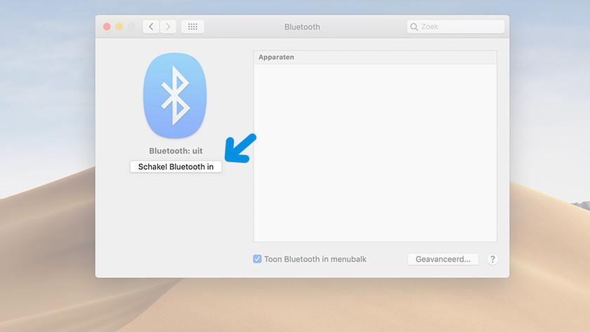 Turn on Bluetooth