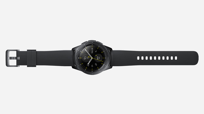 Samsung Galaxy Watch: less storage capacity