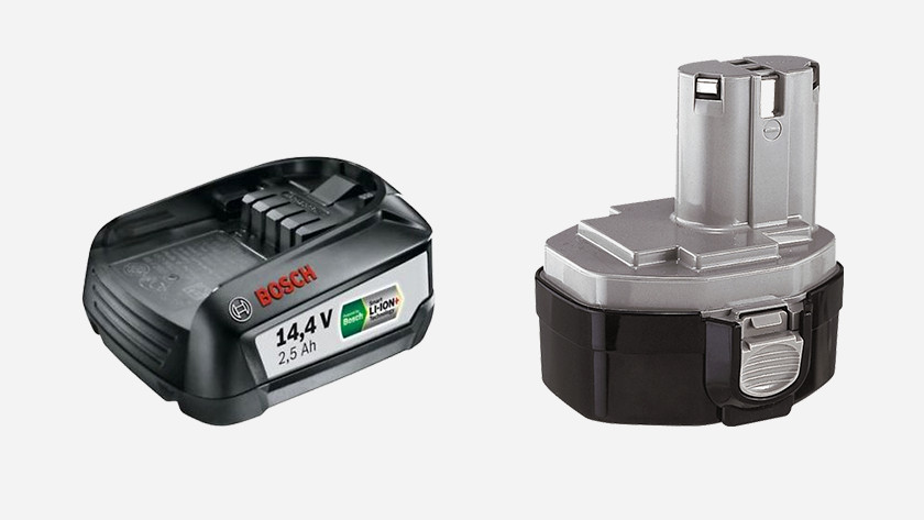 Battery size and weight