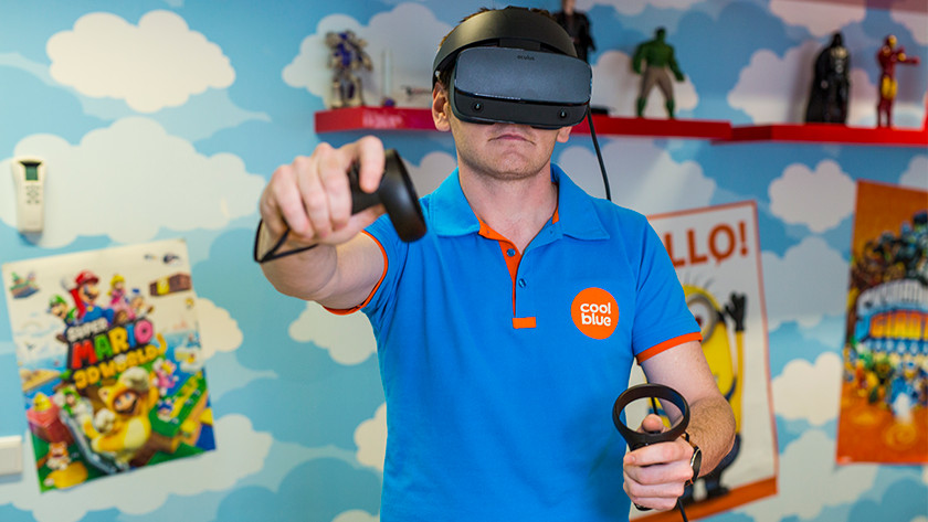 VR Bril Touch controllers