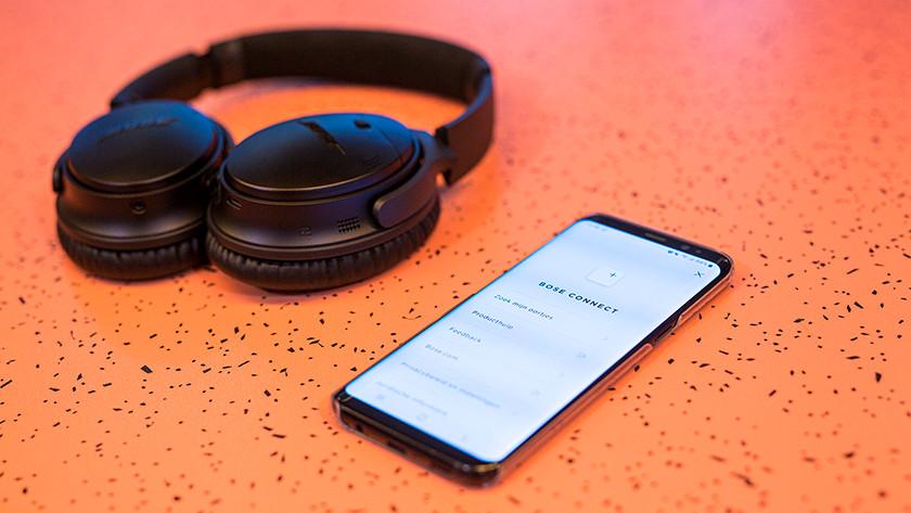 Koptelefoon met app