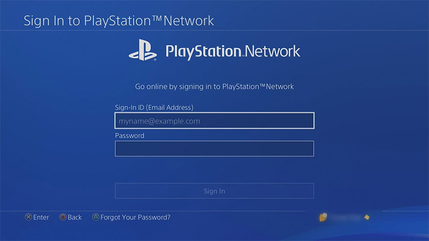 PSN account maken