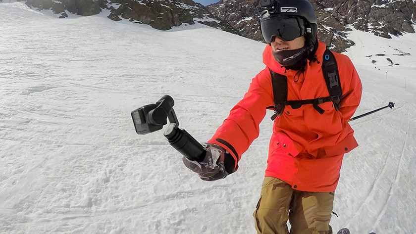 attaching the camera to your gimbal