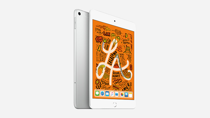 Screen of the Apple iPad Mini 5
