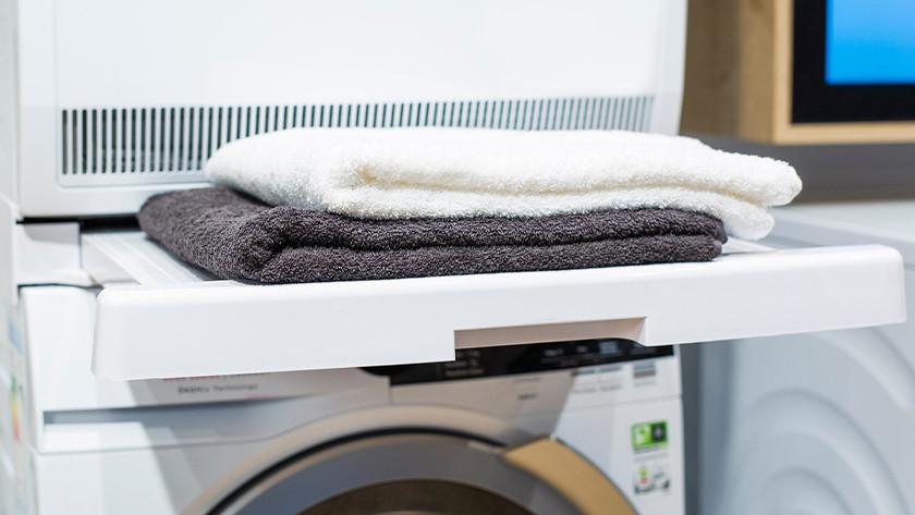 Tussenstuk voor je wasmachine en wasdroger