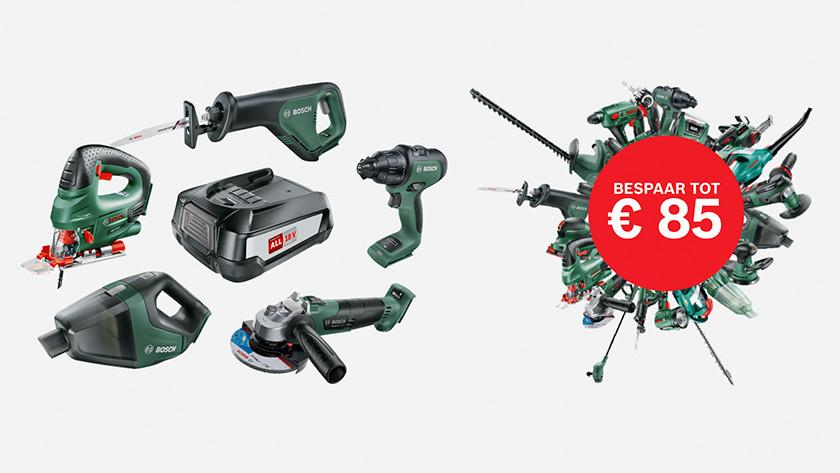 POWER FOR ALL: Bosch 18 volt