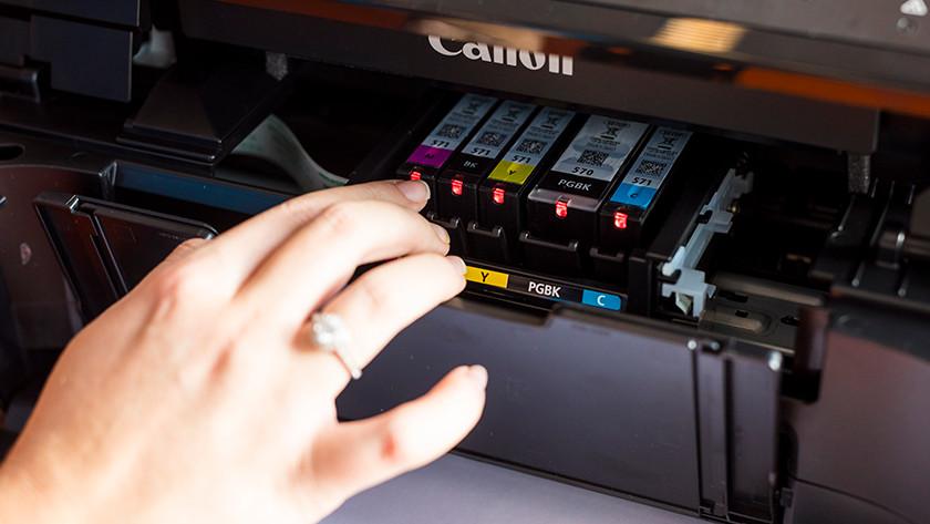 cartridge installeren