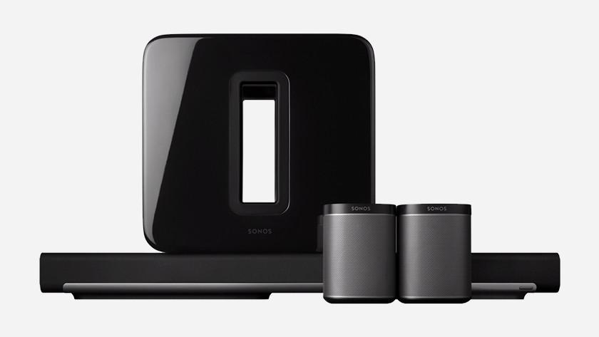 Hoeveel speakers wil je aansluiten?