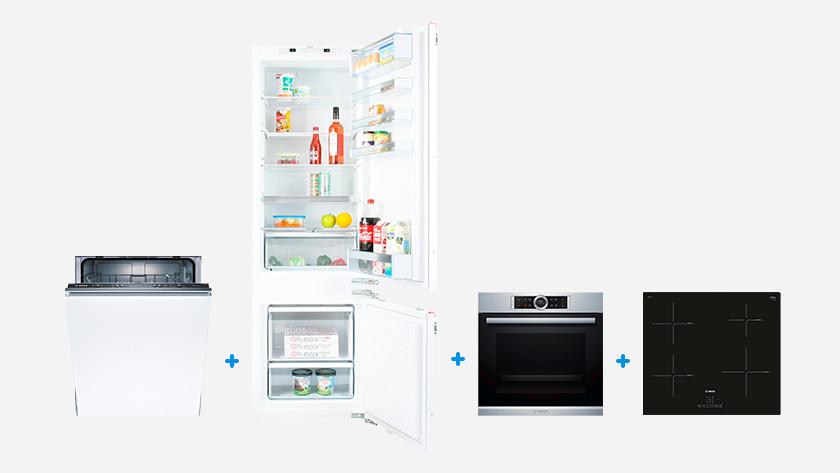 4 Bosch built-in appliances