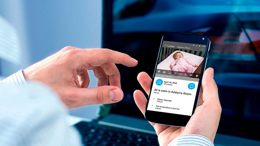 Dual Babyfoon met smartphone app