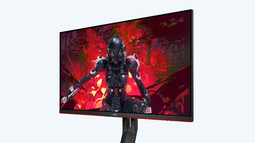 QHD resolutie van de 27 inch AOC gaming monitor