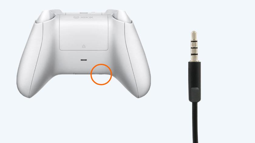 Sluit je headset goed aan op je console of controller