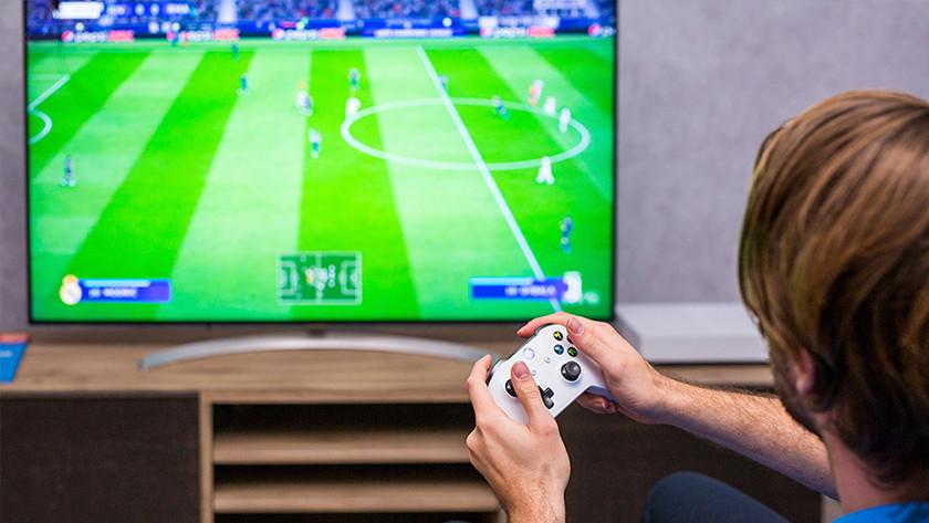FIFA op een Xbox One.