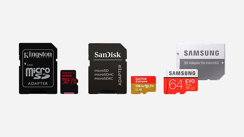 MicroSDXC kaarten