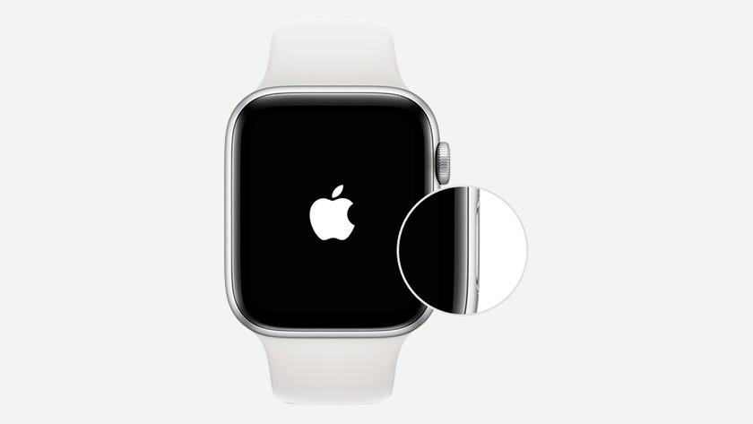Apple watch aanzetten