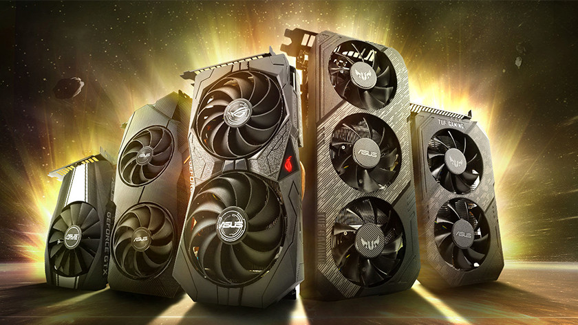 NVIDIA GeForce GTX video cards