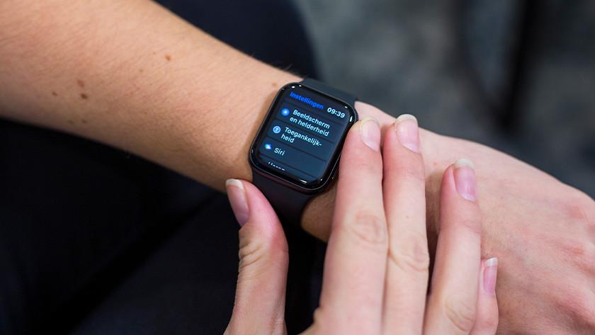 Apple Watch Siri instellen
