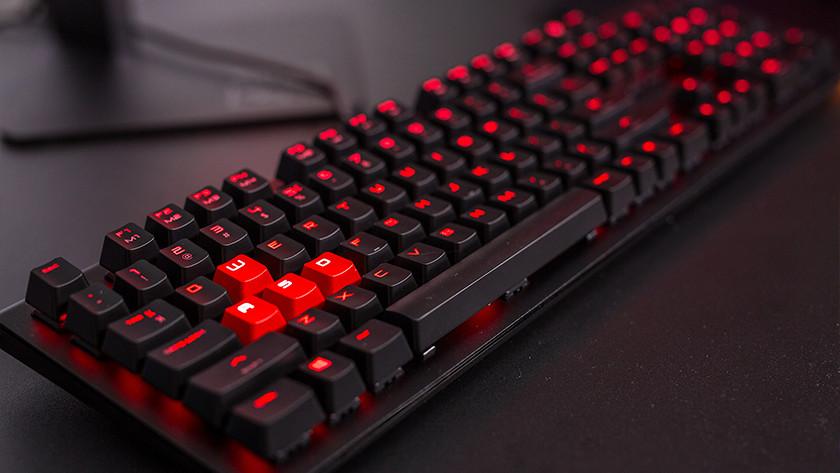 HP Omen gaming keyboard.