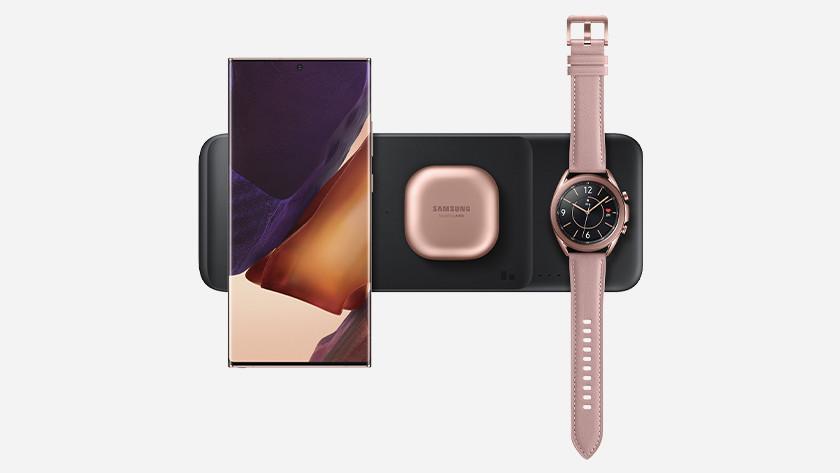 Samsung S21 en Watch draadloos opladen