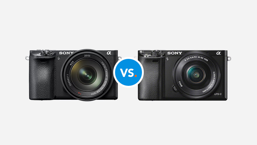 Sony mirrorless cameras